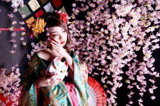 花魁写真(おとめプラン・虎御前(とらごぜん))