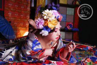 花魁写真(おとめプラン・小紫(こむらさき))