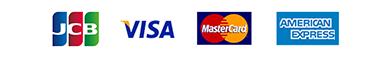 JCB VISA MasterCard American Express