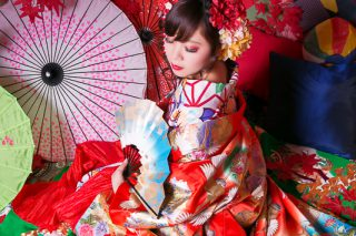 花魁写真(おとめプラン・夕霧(ゆうぎり))