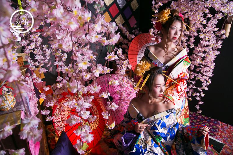 京都でできる花魁体験